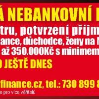 Ověřená nebankovní půjčka - registry neřešíme