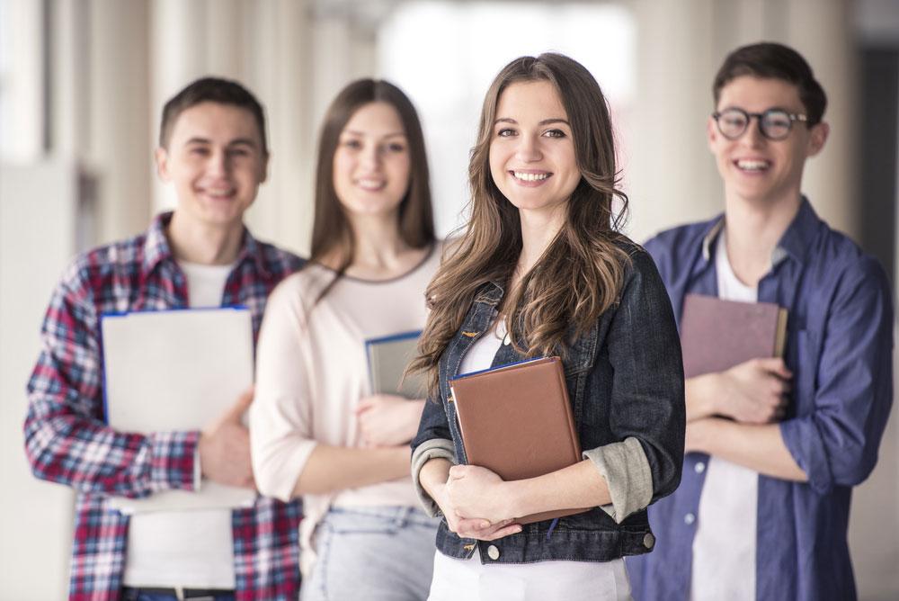 Studenti na vysoké škole